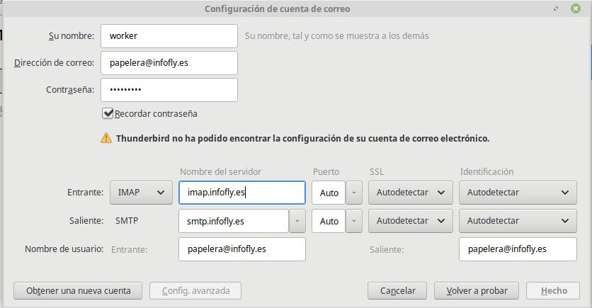 Imagen Configuracion cuenta