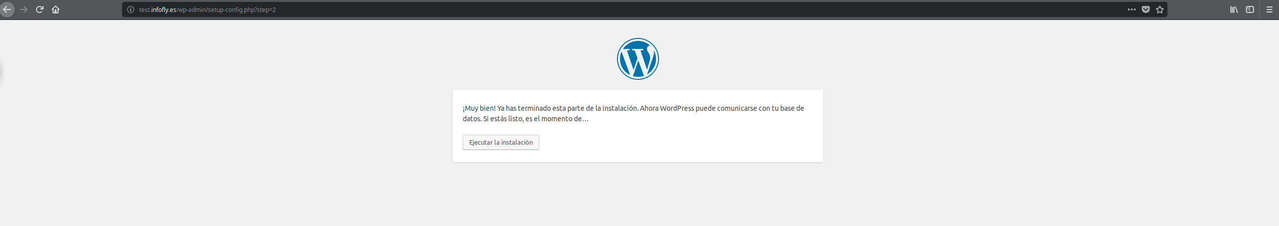Instalacion de WordPress