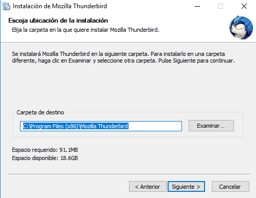 Imagen Instalacion Thunderbird