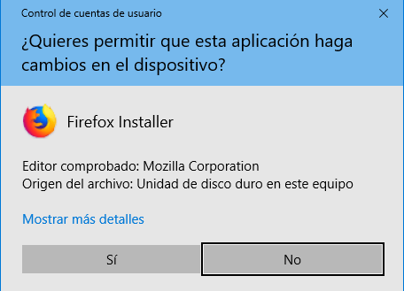 Imagen permisos Windows